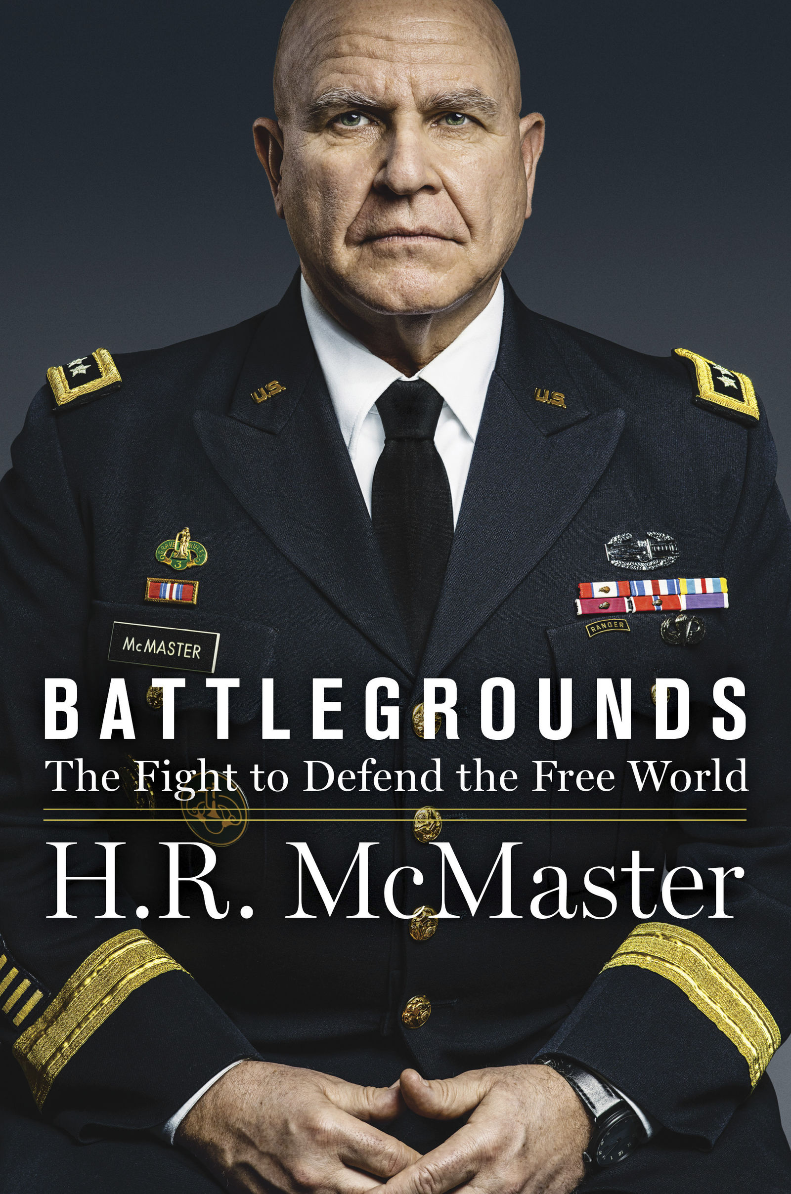 "This book covered released by HarperCollins shows ""Battlegrounds"" by Lt. Gen. H.R. McMaster. The book, by President Donald Trump's second national security adviser, will come out on April 28, 2020.  (HarperCollins via AP)"