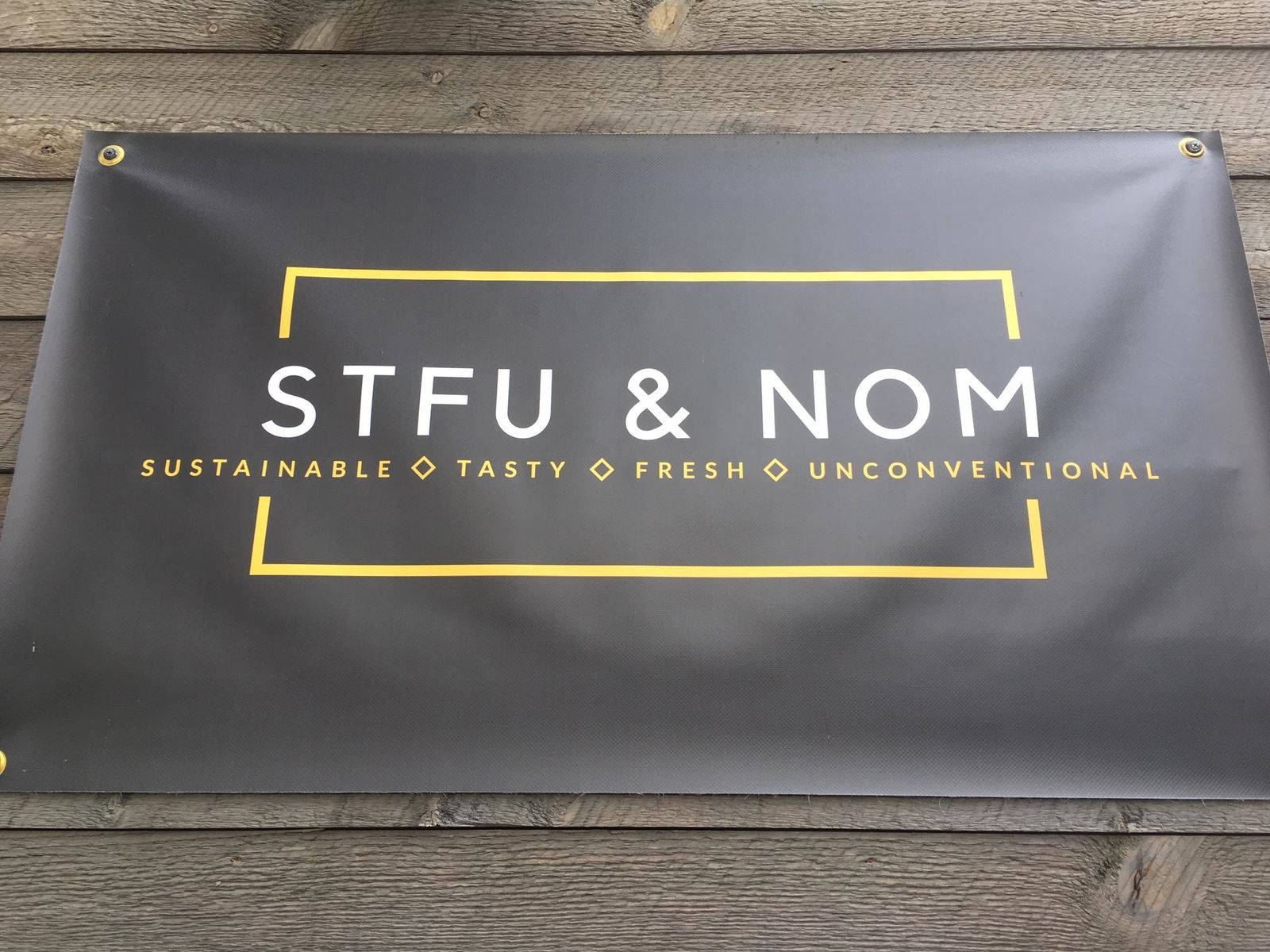 STFU & Nom offers gluten free food in Eugene. (SBG)