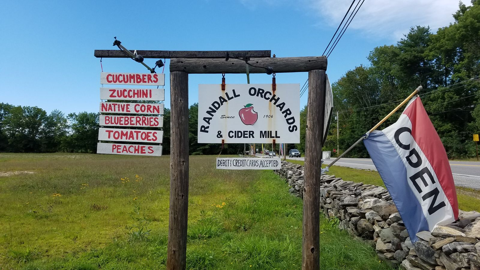 Randall Orchards is in Standish. (WGME)