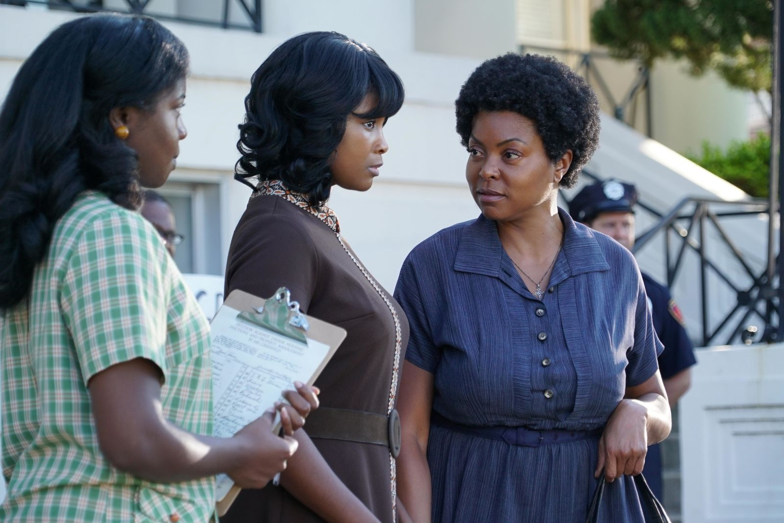 Taraji P. Henson (RIGHT) stars in THE BEST OF ENEMIES{ }(Photo: STX Entertainment)