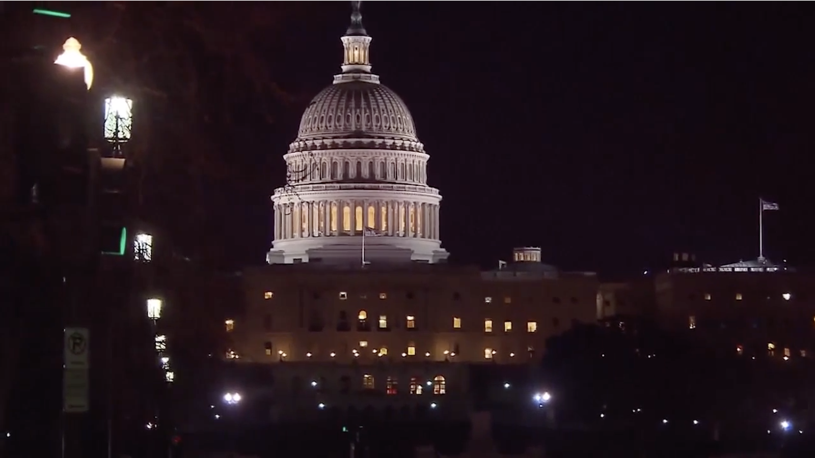 Impeachment proceedings mean late night for lawmakers on Capitol Hill (Photo: Sinclair Broadcast Group)