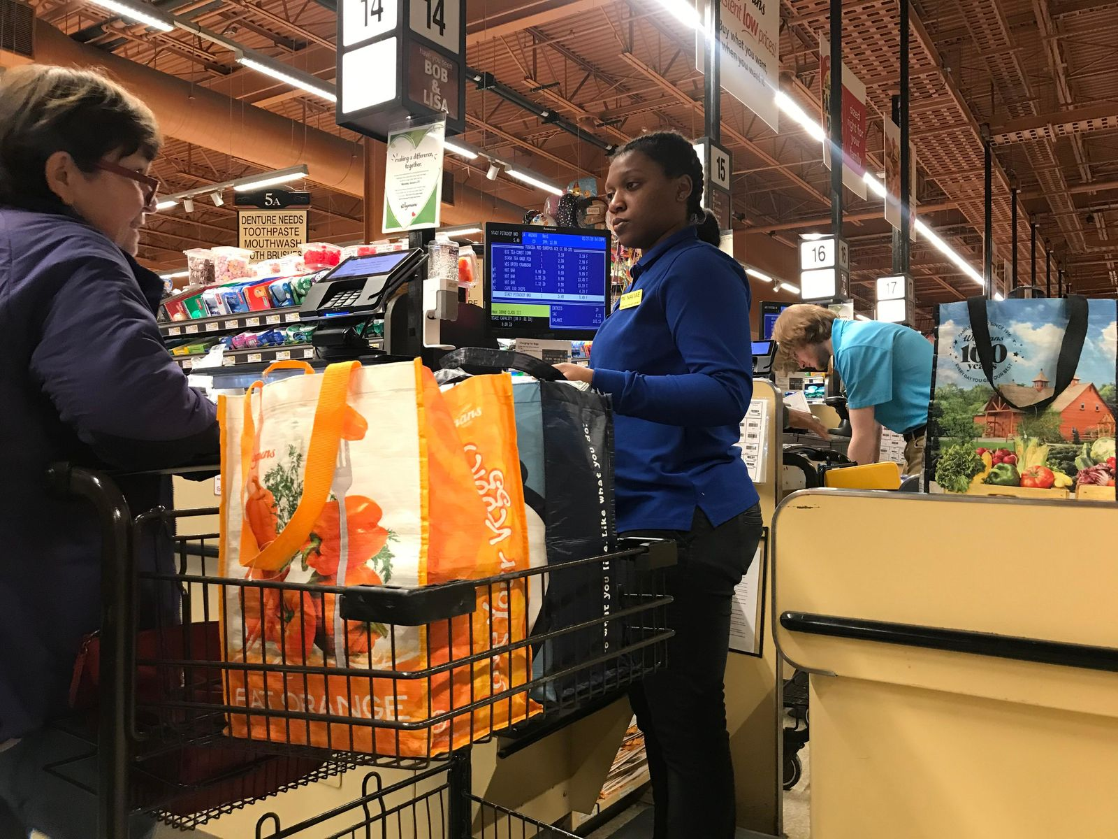 Wegmans shoppers adjust to removal of plastic bags ahead of statewide ban