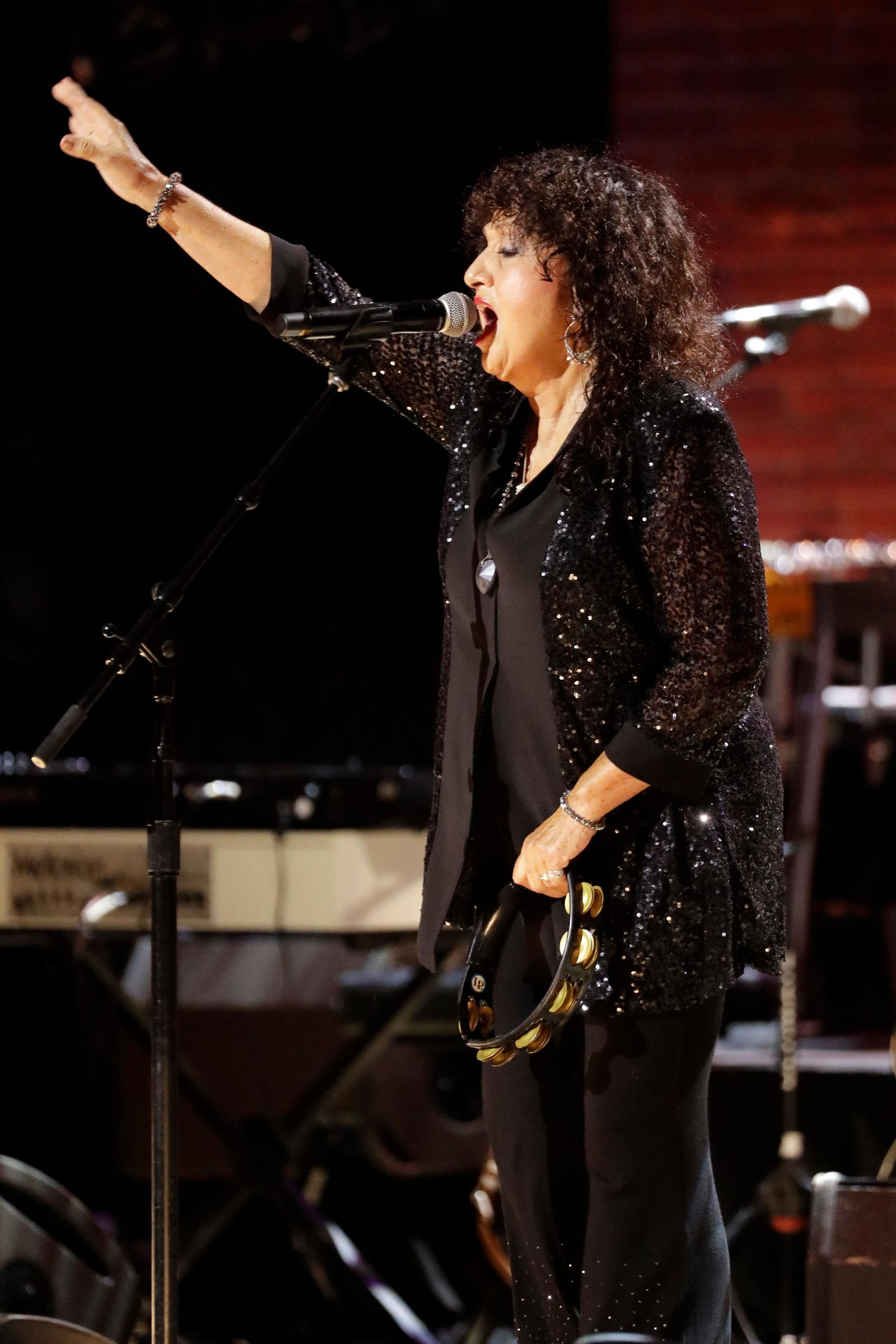 Maria Muldaur performs during the Americana Honors & Awards show Wednesday, Sept. 11, 2019, in Nashville, Tenn. (AP Photo/Wade Payne)