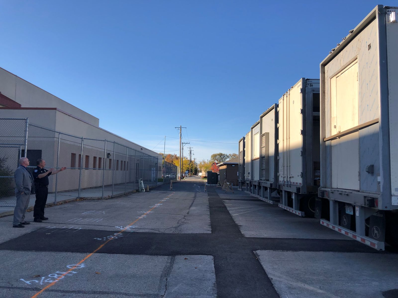 Trailers just first step in Canyon County Jail's new overcrowding facility. (Courtesy Alexis Goree)