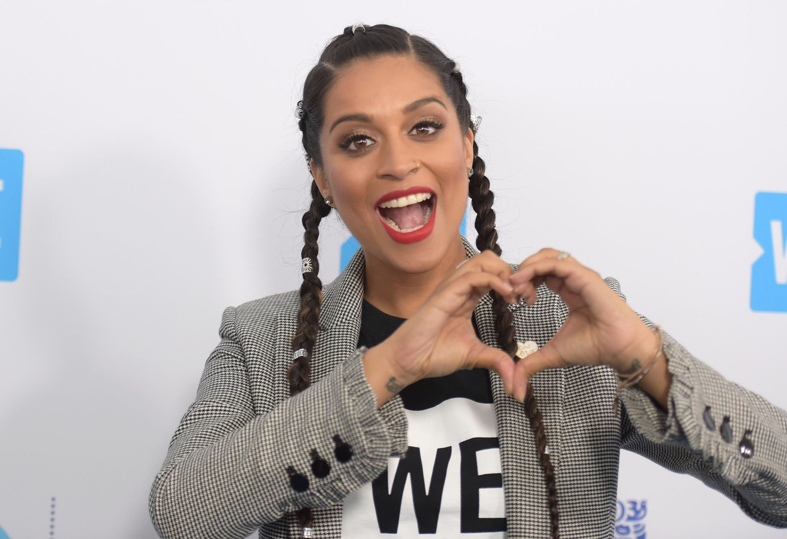 FILE - In this April 19, 2018 file photo, Lilly Singh arrives at WE Day California at The Forum in Inglewood, Calif.{ } (Photo by Richard Shotwell/Invision/AP, File)