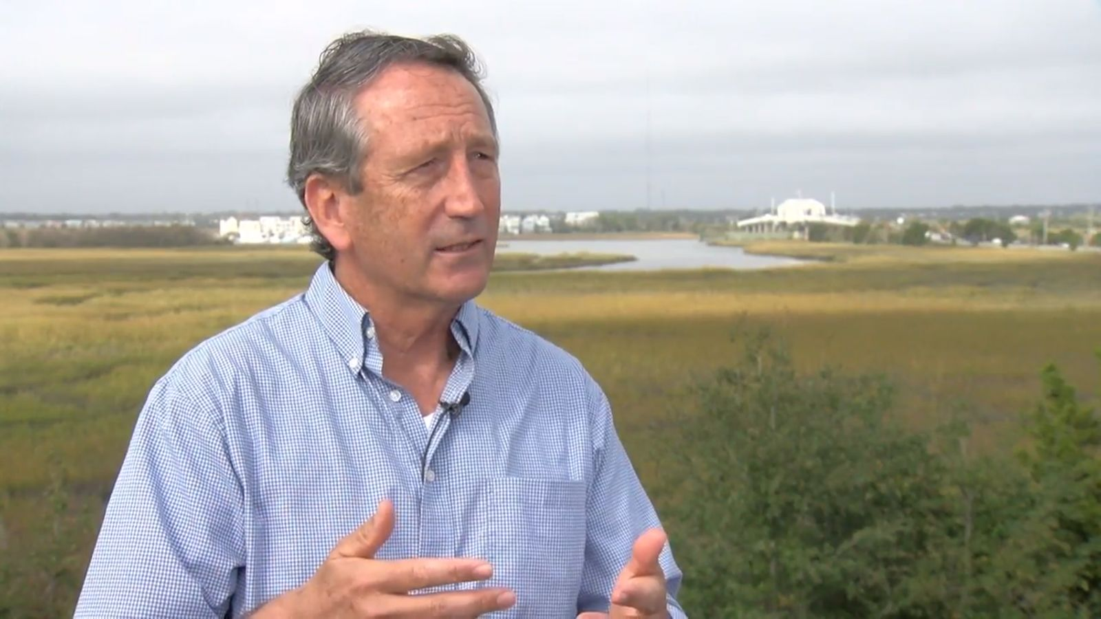 FILE — Mark Sanford, Nov. 12, 2018. (WCIV)
