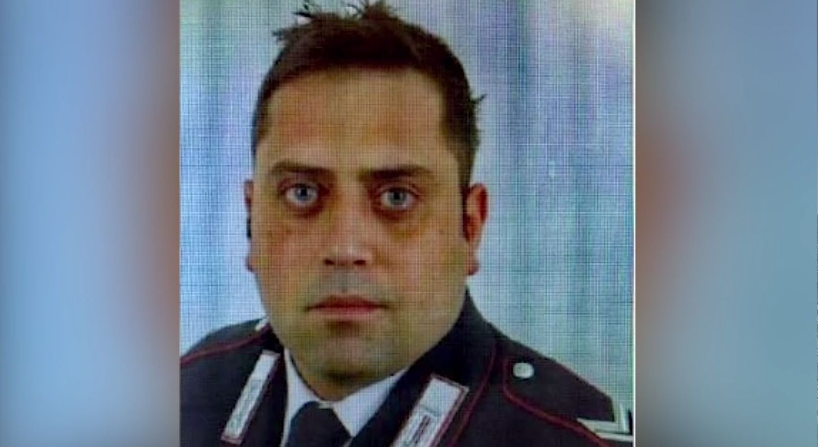 Photo of Carabinieri officer Mario Cerciello Rega, 35, who was killed Friday, July 26, 2019. Two young American tourists have been detained for alleged murder and attempted extortion. (Photo: CNN Newsource)