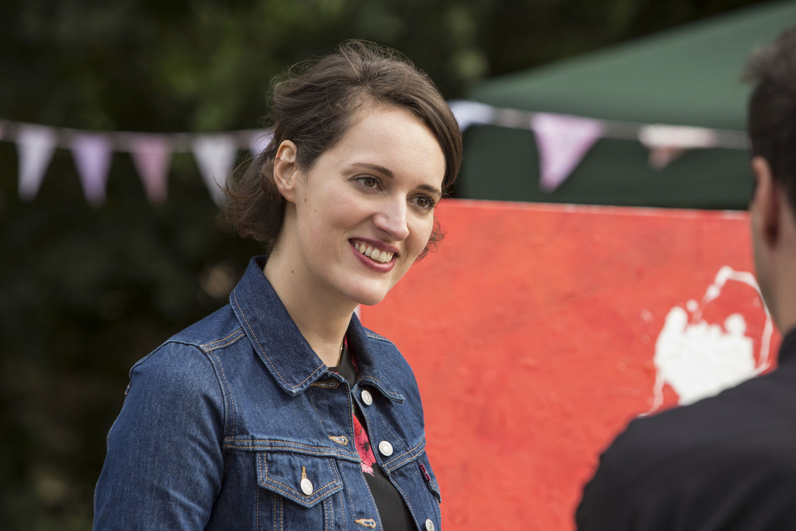 "This image released by Amazon shows Phoebe Waller-Bridge in a scene from ""Fleabag."" On Tuesday, July 16, 2019, the program was nominated for an Emmy Award for outstanding comedy series. (Amazon via AP)"