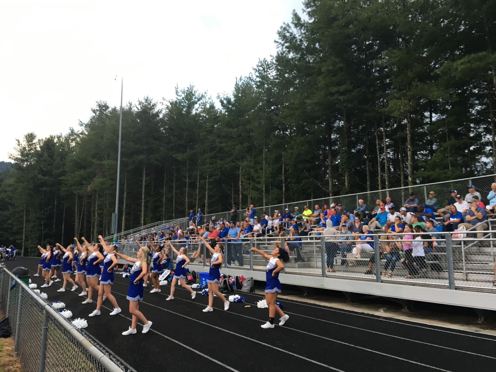 Brevard vs Mountain Heritage, 08-23-19 (Photo credit: WLOS Staff)
