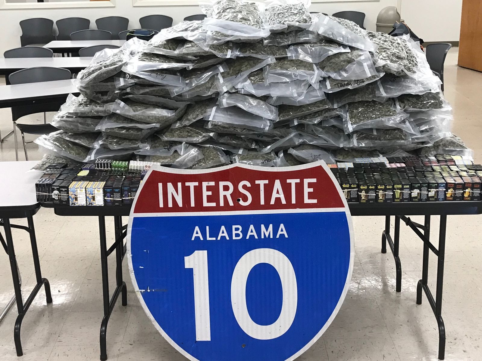 (image: WPMI) Mobile Co. Sheriff's Office makes marijuana and gummies bust worth half a million dollars
