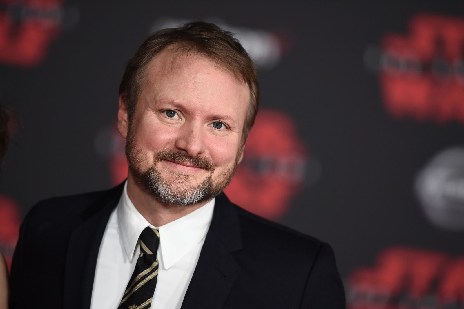 "Director Rian Johnson arrives at the Los Angeles premiere of ""Star Wars: The Last Jedi"" at the Shrine Auditorium on Saturday, Dec. 9, 2017 in Los Angeles. (Photo by Jordan Strauss/Invision/AP)"