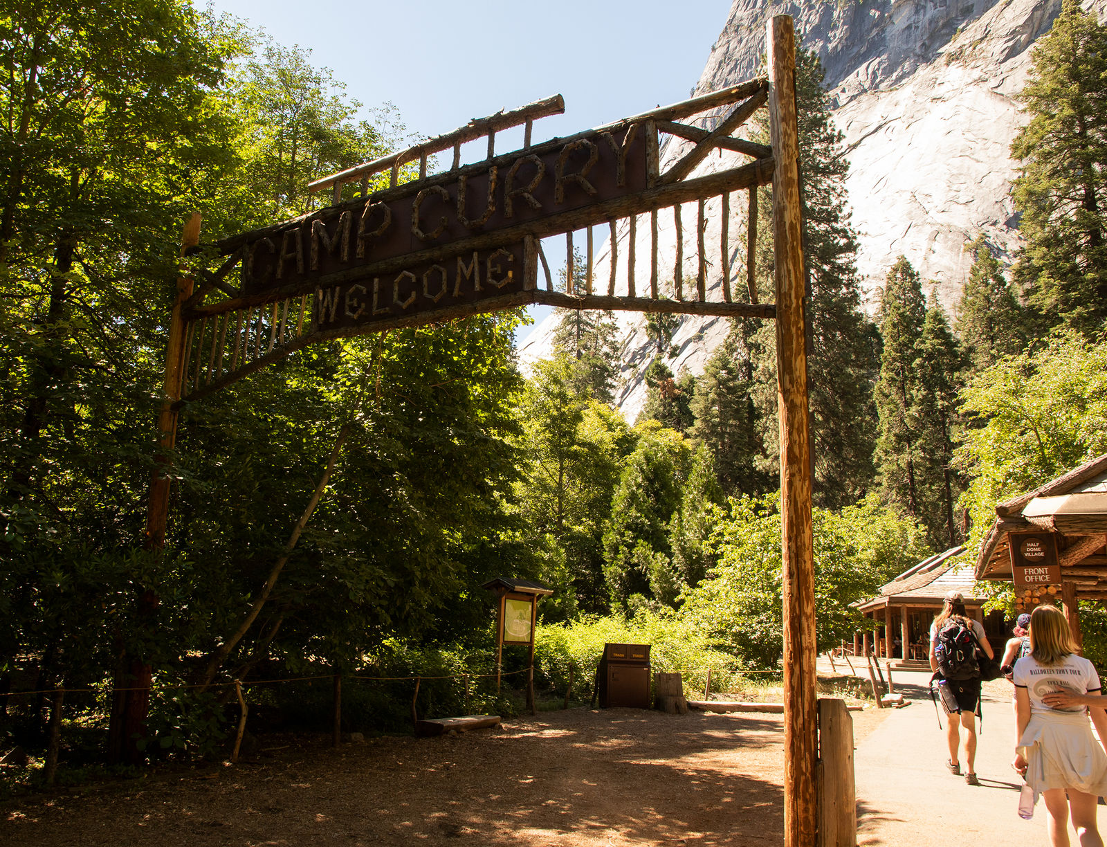 Half Dome Village will once again be called Curry Village (NPS Photo)