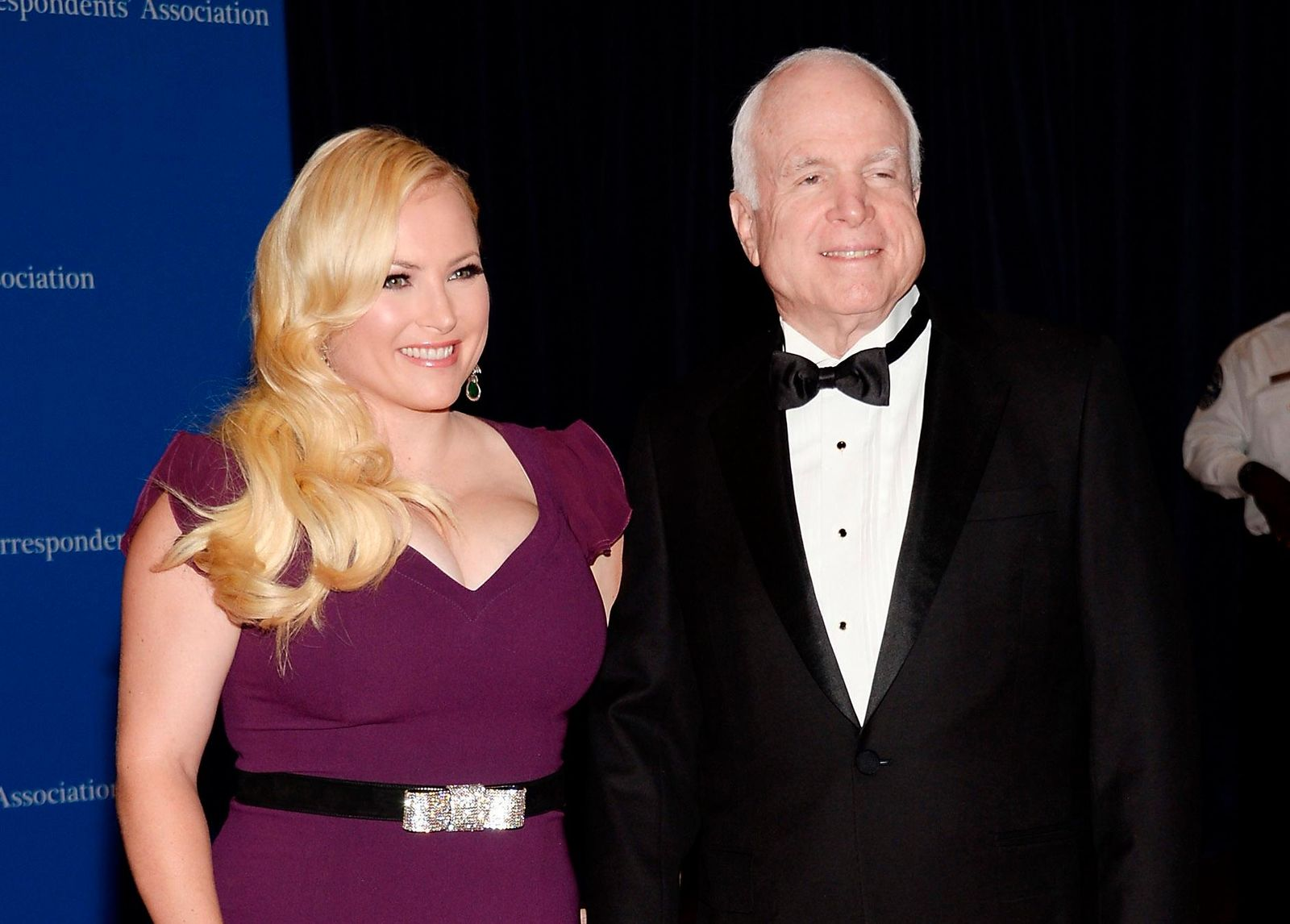 FILE - In this May 3, 2014 file photo, Meghan McCain, and Sen. John McCain attend the White House Correspondents' Association Dinner in Washington. (Photo by Evan Agostini/Invision/AP, File)