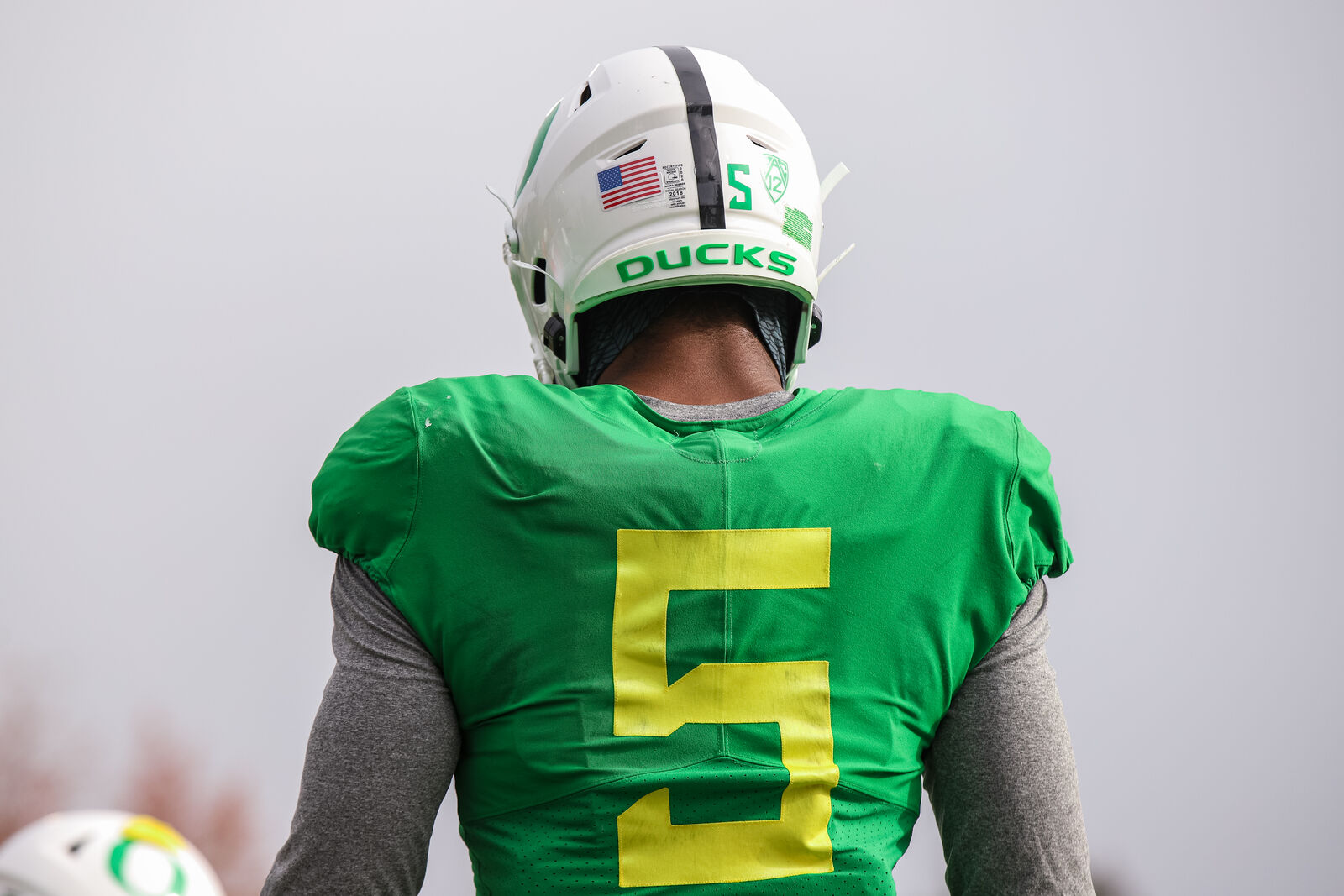 The Oregon Ducks practice for the Pac-12 season the week of October 19-23 - before COVID-19 brought practice to a halt. (Oregon Football)