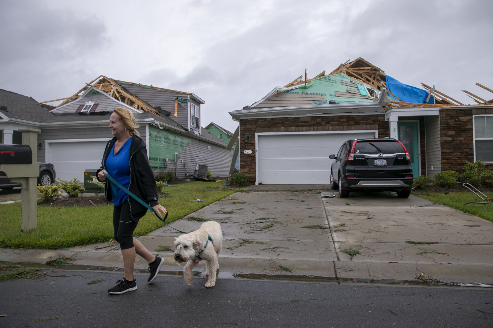 FILE - Gov. Roy Cooper is seeking a federal disaster declaration for 13 counties in North Carolina following Hurricane Dorian. (Jason Lee/The Sun News via AP)