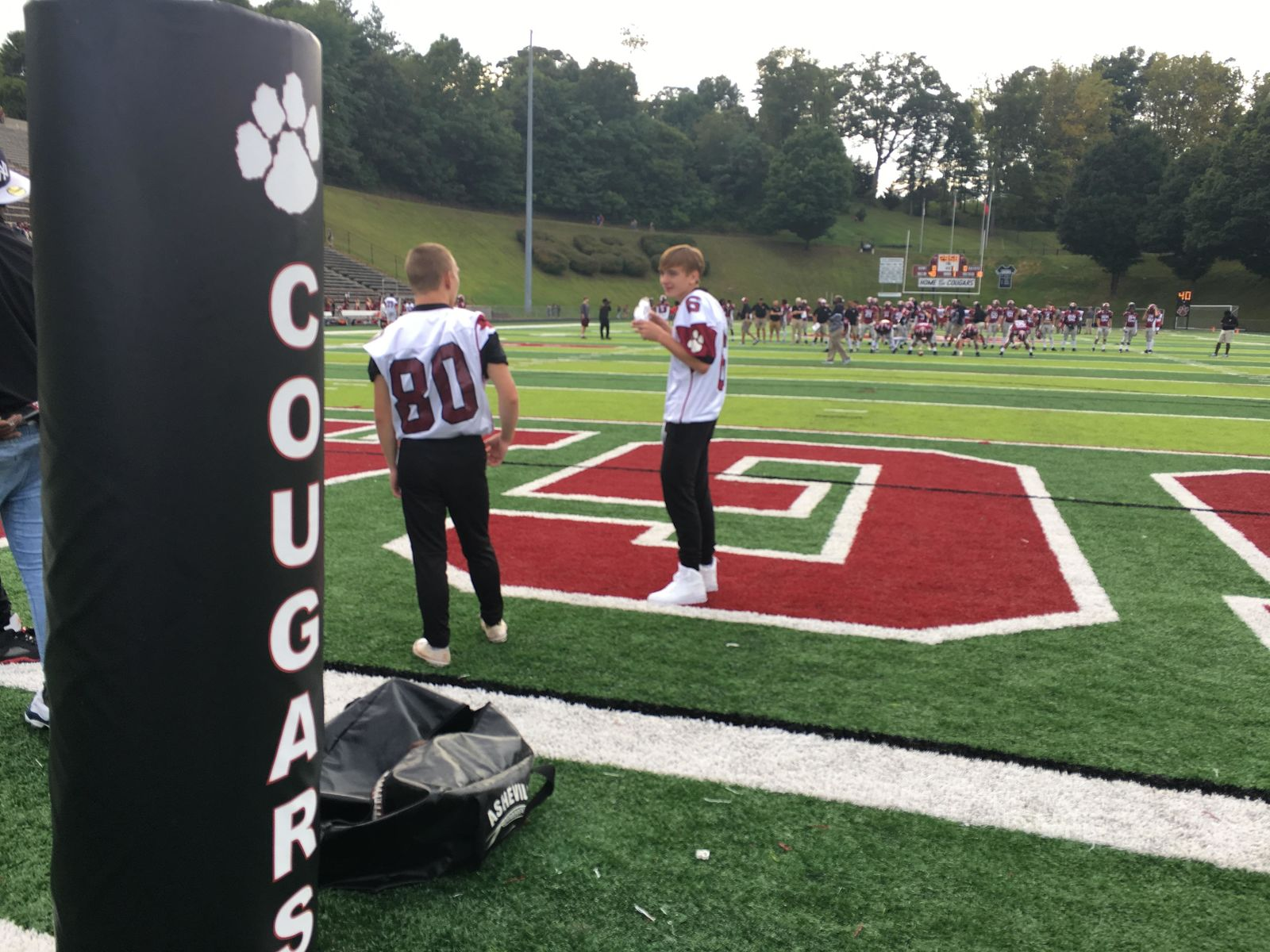 Franklin vs Asheville, 08-23-19 (Photo credit: WLOS Staff)