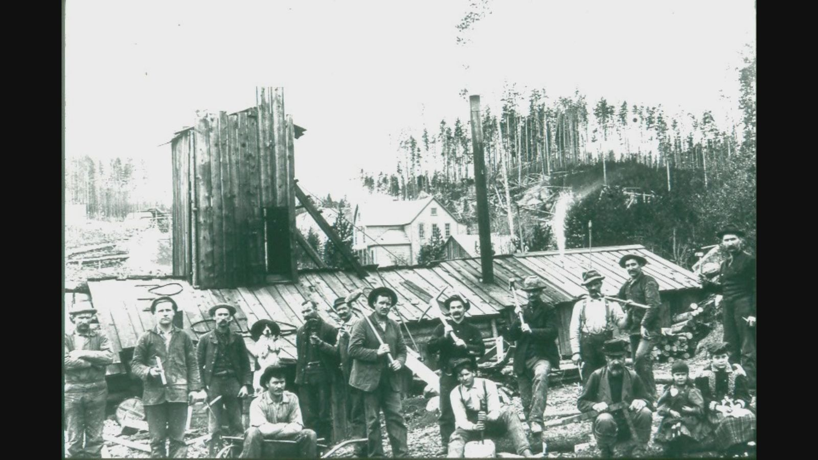 In its hay day, as many as 1,000 people lived and worked in Garnet.