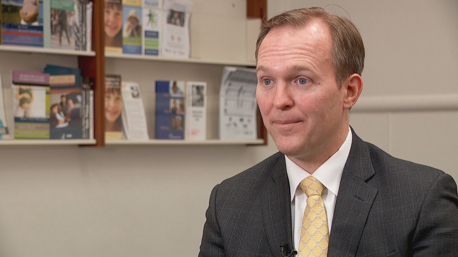 <p>Rep. Ben McAdams is seemingly in a good position with voters in his 4th Congressional District as he aims for another term in Washington according to a new survey. (Photo: KUTV)&nbsp;<br></p>
