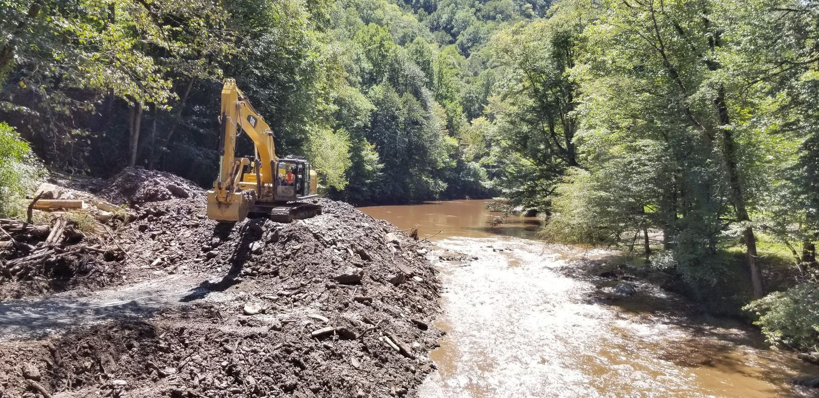 US Forest Service closes Nantahala Gorge during debris removal operations (Photo credit: United States Forest Service)