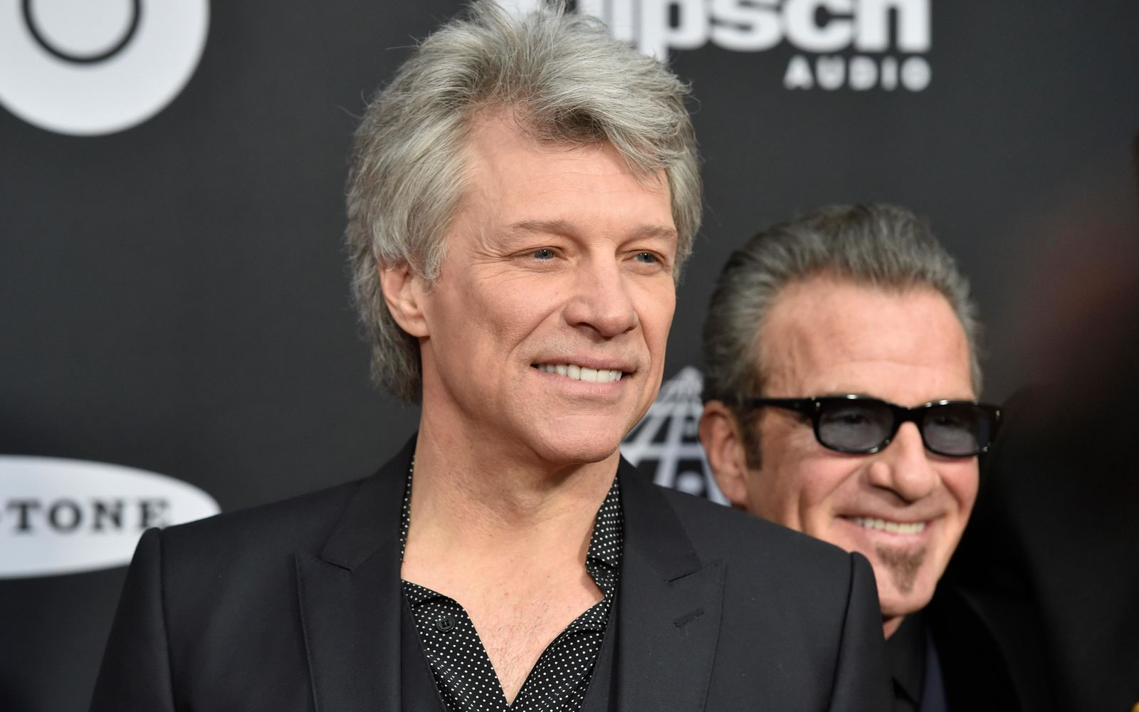 Jon Bon Jovi arrives at the red carpet before the Rock and Roll Hall of Fame induction ceremony, Saturday, April 14, 2018, in Cleveland. (AP Photo/David Richard)