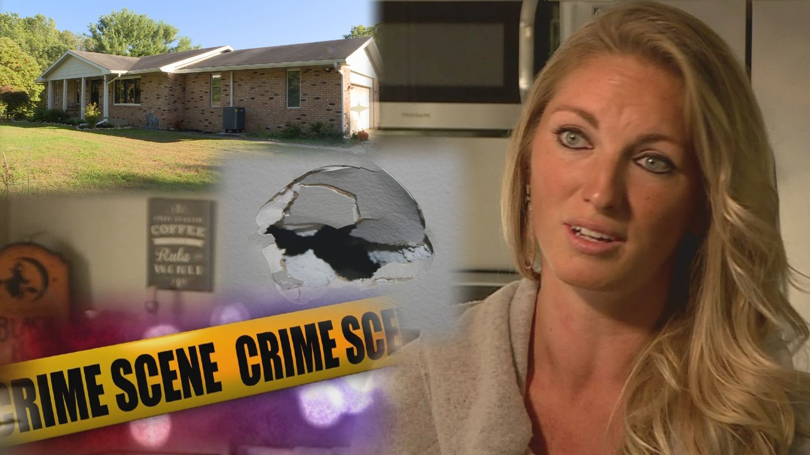 An Airbnb host returned to find thousands of dollars of damage and a violent crime scene after renting her home. (Image: WSBT 22)