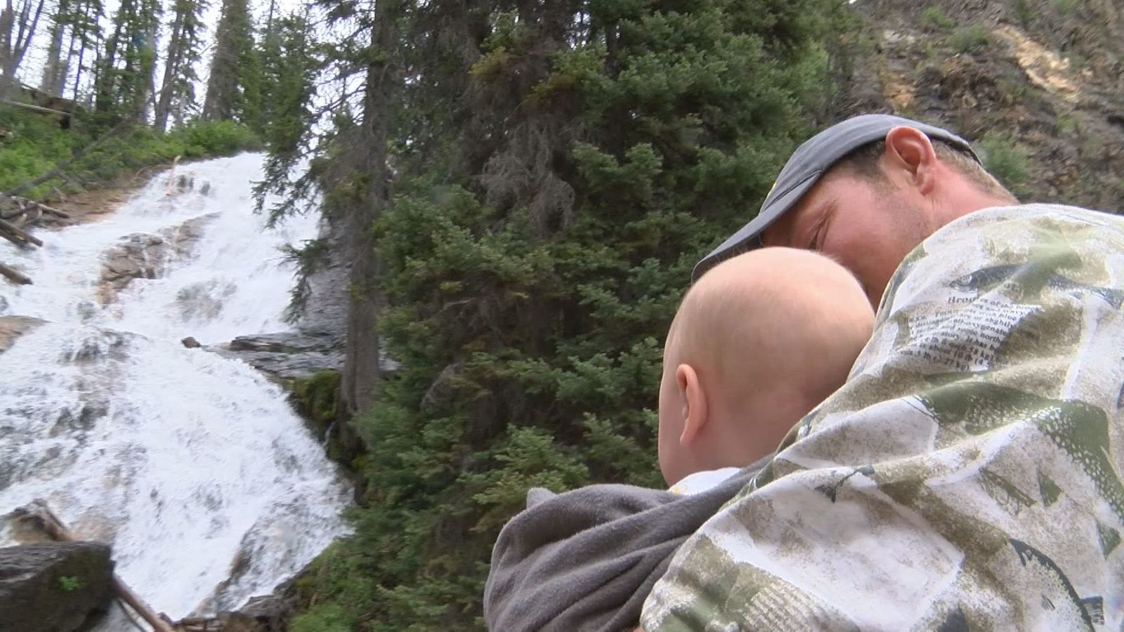 Seeing the falls is a memorable experience for families.