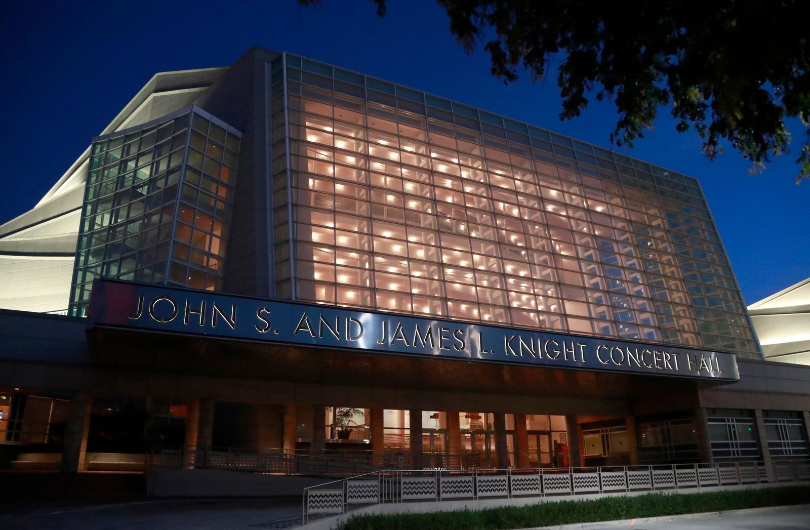 The Knight Concert Hall at the Adrienne Arsht Center for the Performing Arts of Miami-Dade County is shown, Friday, June 21, 2019, in Miami. (AP Photo/Wilfredo Lee)