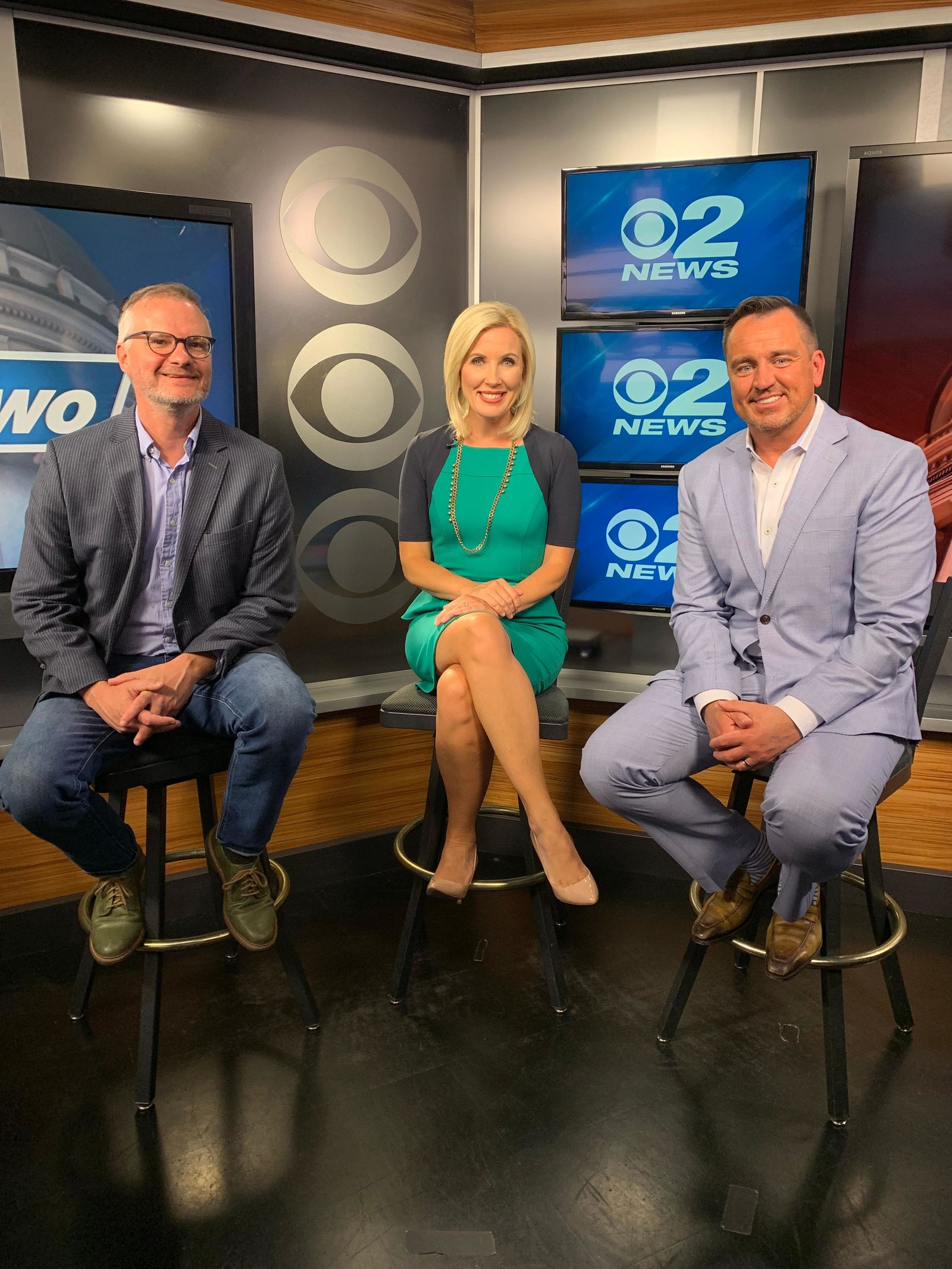 The milestone podcast featured 2News Anchor/Reporter Heidi Hatch hosting former Speaker of the House Greg Hughes (R) and guest Robert Gehrke, an award-winning columnist from The Salt Lake Tribune. (Photo: KUTV)
