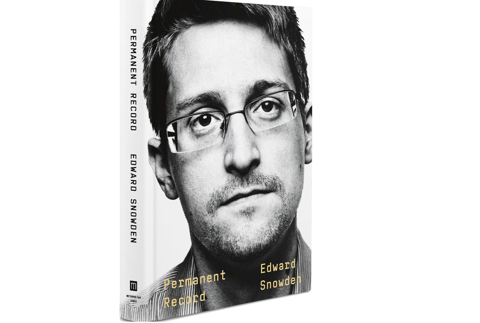 "This image provided by  Metropolitan Books shows the cover of  Edward Snowden's ""Permanent Record."" Snowden has written a memoir.{ } ( Metropolitan Books via AP)"