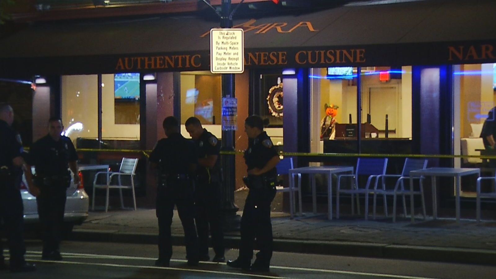 FILE -- Providence police said a man was stabbed to death inside a hookah bar on Atwells Avenue, Thursday, Oct. 3, 2019. (WJAR)