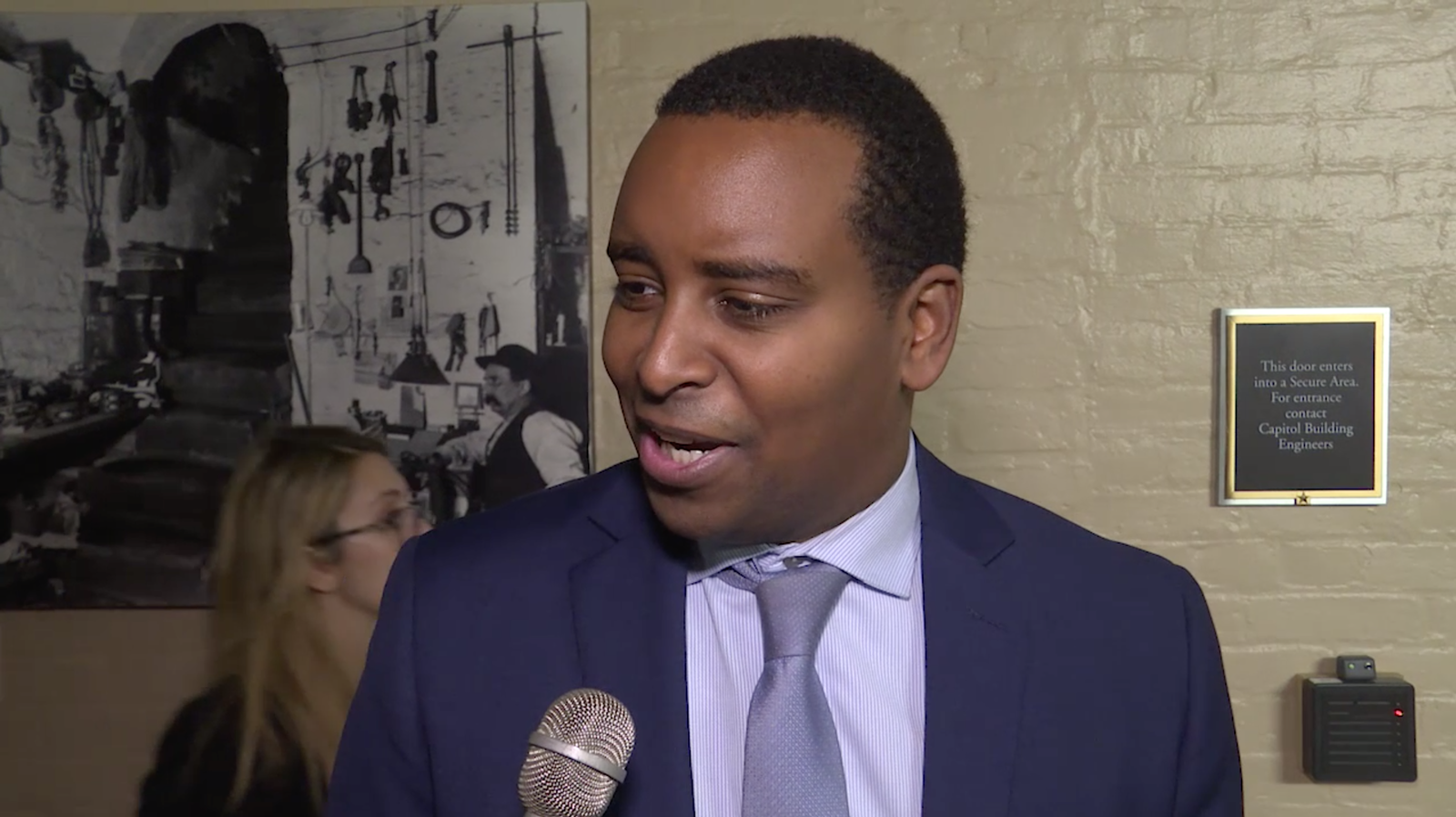 Rep. Joe Neguse (D-CO) |{ }Photo: Sinclair Broadcast Group