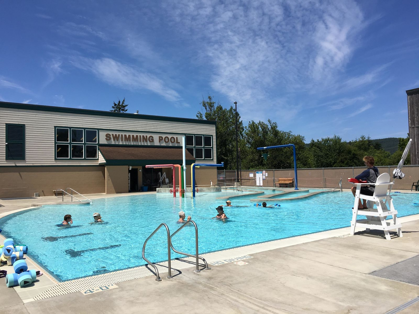 Summer is in full swing at the Coquille Community Pool.