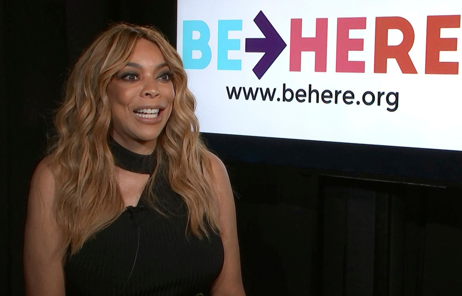 This Sept. 7, 2018 file image taken from video shows talk show host Wendy Williams during an interview in New York. Williams' family says she is taking an extended break from her TV talk show to deal with health issues. In a statement Friday,  Jan. 18, 2019, the family said that Williams has suffered complications from the Graves' disease in the past few days. (AP Photo, File)
