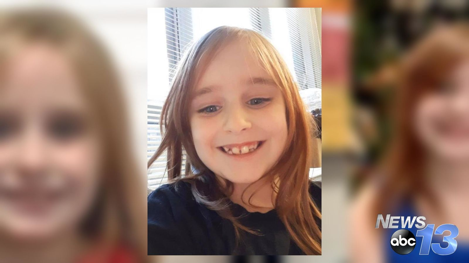 Faye Marie Swetlik, 6, was last seen Monday, Feb 10, 2020, outside her home in Cayce, South Carolina. Anyone with any information should call 803-205-4444 (Photos courtesy Cayce Department of Public Safety)