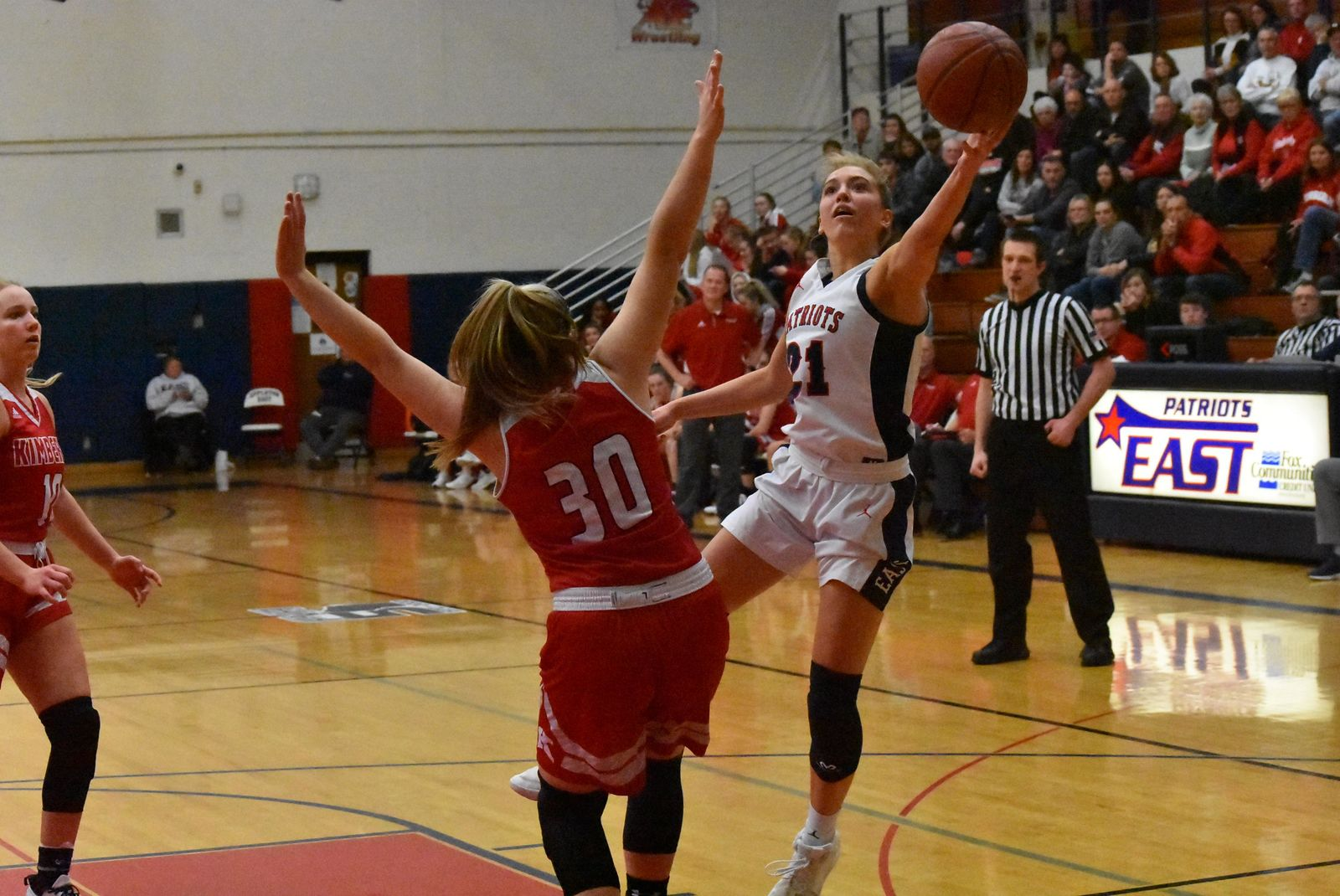 Appleton East's Emily La Chapell is a FOX 11 all-area first-team selection. (Doug Ritchay/WLUK)