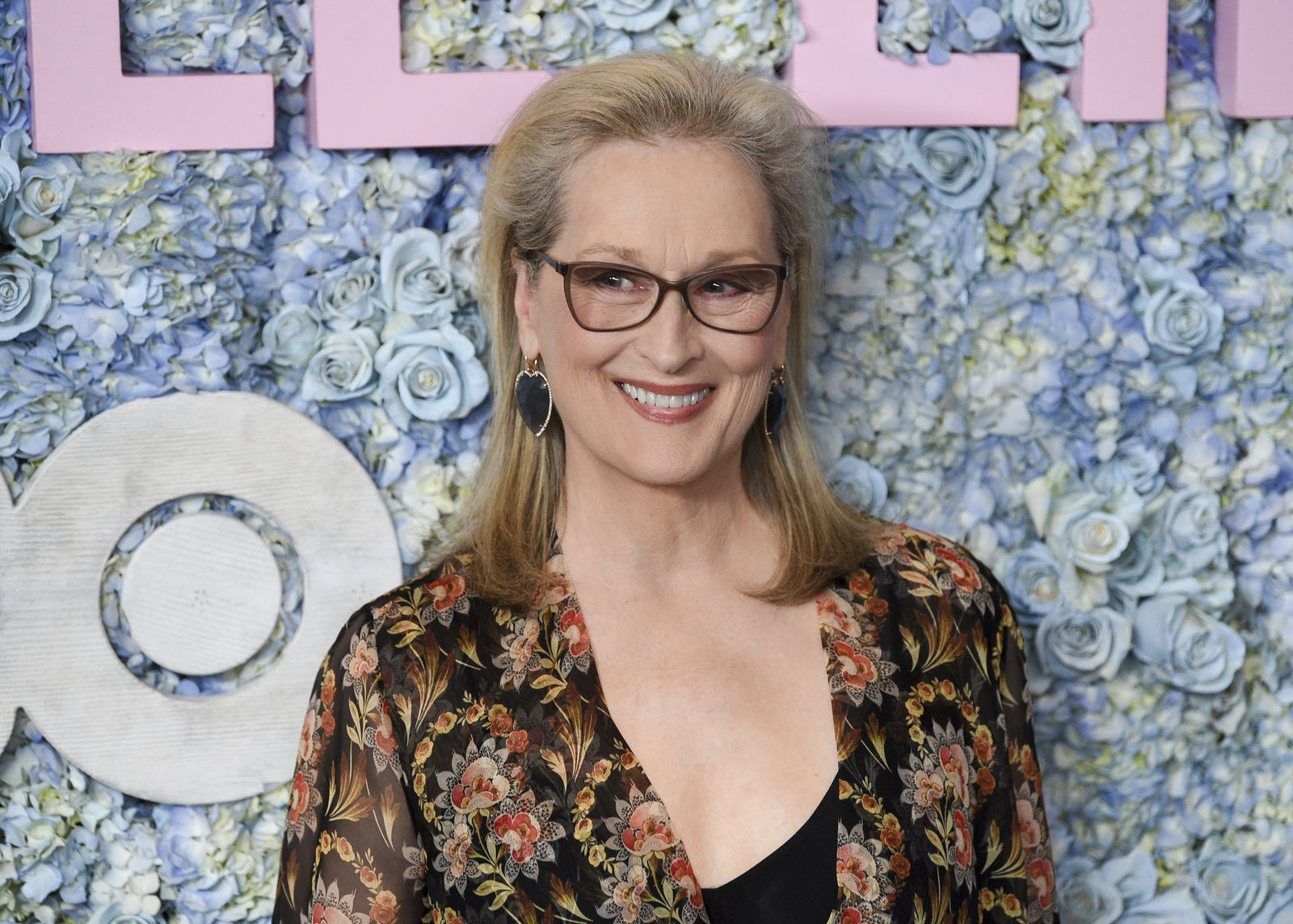 "FILE - This May 29, 2019 file photo shows actress Meryl Streep at the premiere of HBO's ""Big Little Lies"" season two in New York. (Photo by Evan Agostini/Invision/AP, File)"