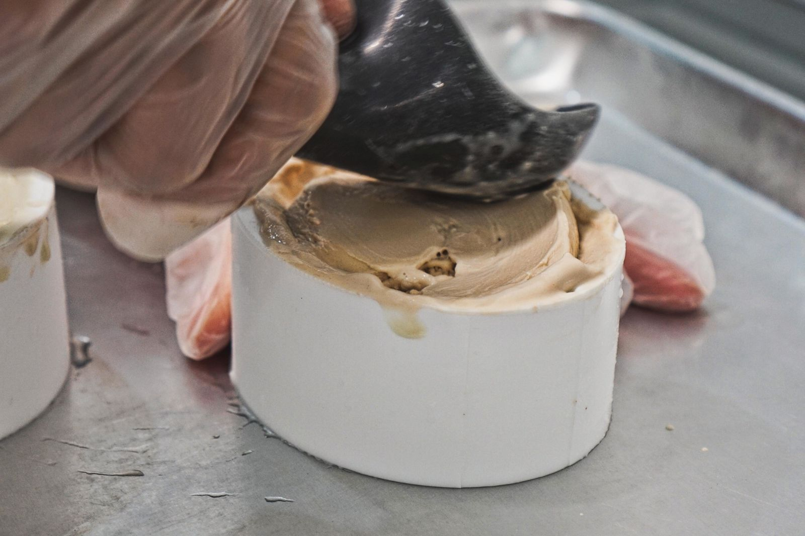 Three different flavors of ice cream are fit into dragon egg molds and frozen overnight.{ }(Photo: Emily Faber, Sinclair Broadcast Group)