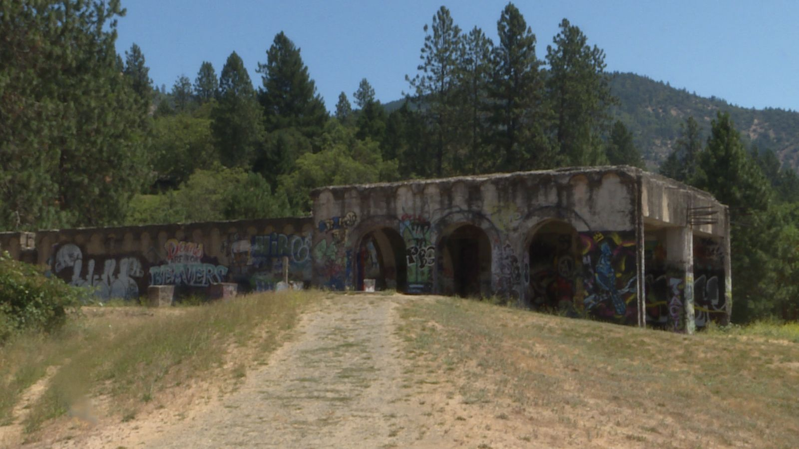 A castle in the woods.{&nbsp;} Ament Dam powerhouse. (John Stoeckl/News 10)<br>