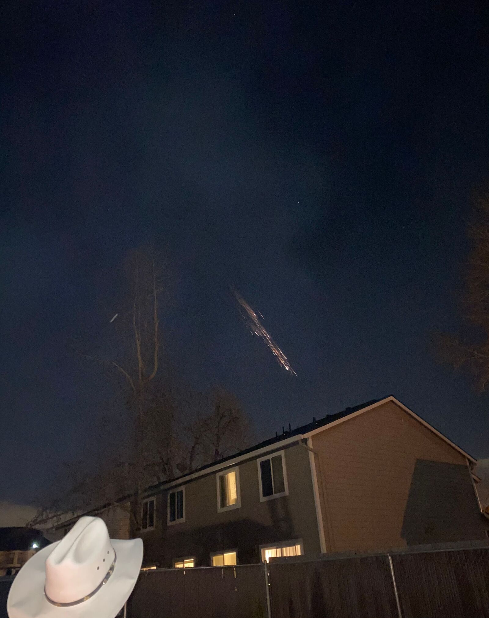 We heard a sonic boom about 5 minutes later( Photo: Aspen George via Chime In)<br>Did you see it? Send your photos & video to KATU.com/ChimeIn!