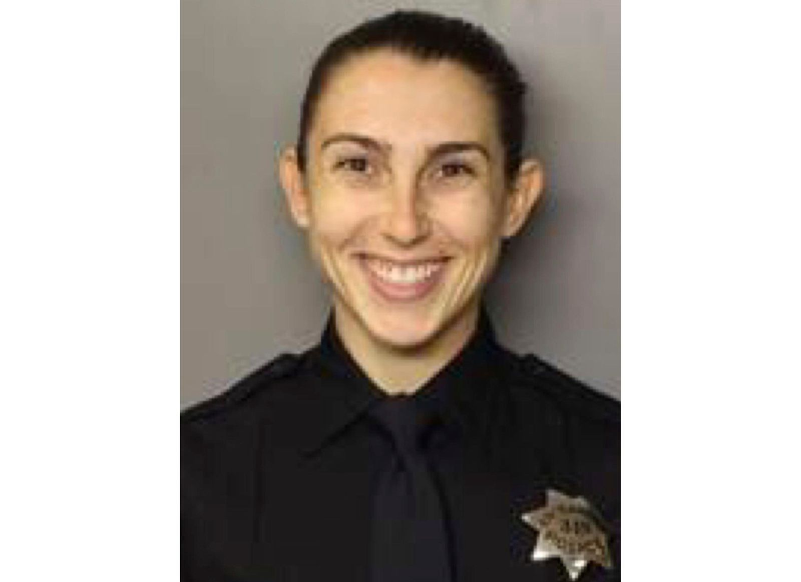 In this undated photo released by the Sacramento Police Department is Officer Tara O' Sullivan. Sacramento police says the officer killed Wednesday, June 19, 2019, during a domestic violence call entered their academy in May 2018 and graduated seven months later, in December. The Sacramento Department said in a statement Thursday, June 20, 2019 that Officer Tara O'Sullivan was initially hired in January 2018 as a community service officer. (Sacramento Police Department via AP)