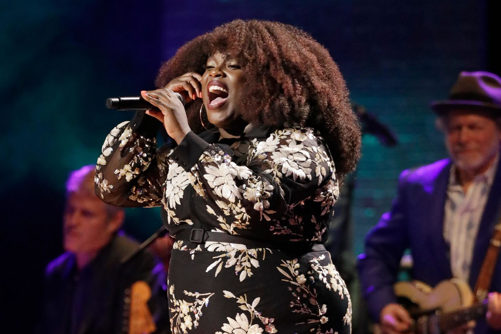 Yola performs during the Americana Honors & Awards show Wednesday, Sept. 11, 2019, in Nashville, Tenn. (AP Photo/Wade Payne)