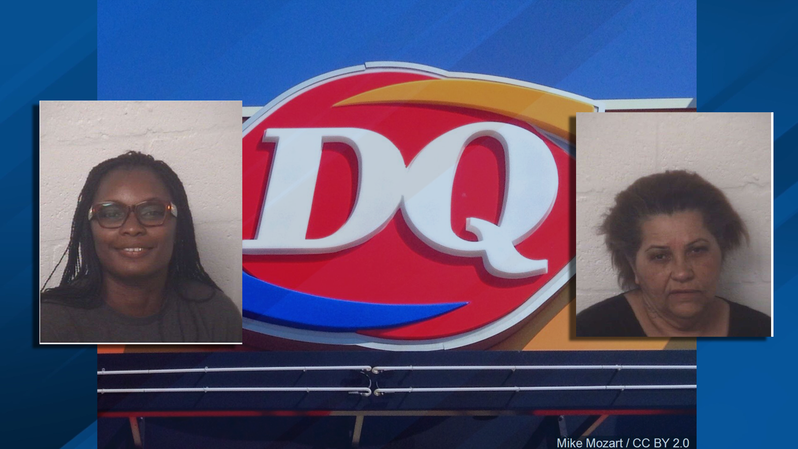 Police arrested multiple people after a fight broke out at a Dairy Queen in South Florida. (Homestead Police Department)