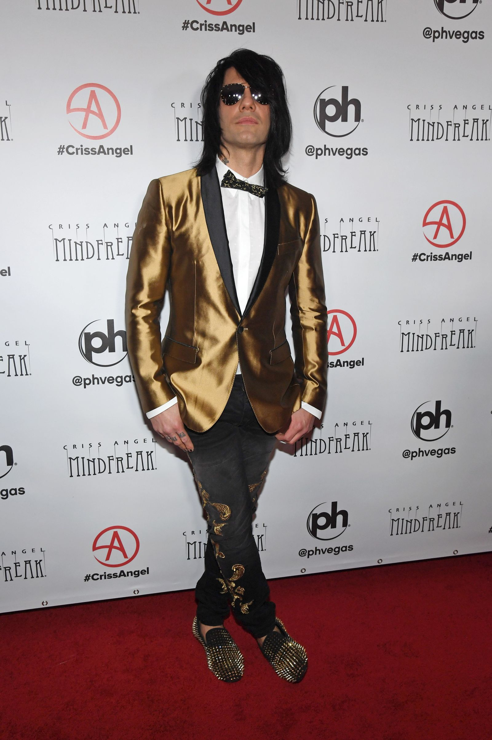 "LAS VEGAS, NEVADA - JANUARY 19:  Illusionist Criss Angel attends the grand opening of ""Criss Angel MINDFREAK"" at Planet Hollywood Resort & Casino on January 19, 2019 in Las Vegas, Nevada.  (Photo by Ethan Miller/Getty Images for Planet Hollywood Resort & Casino)"