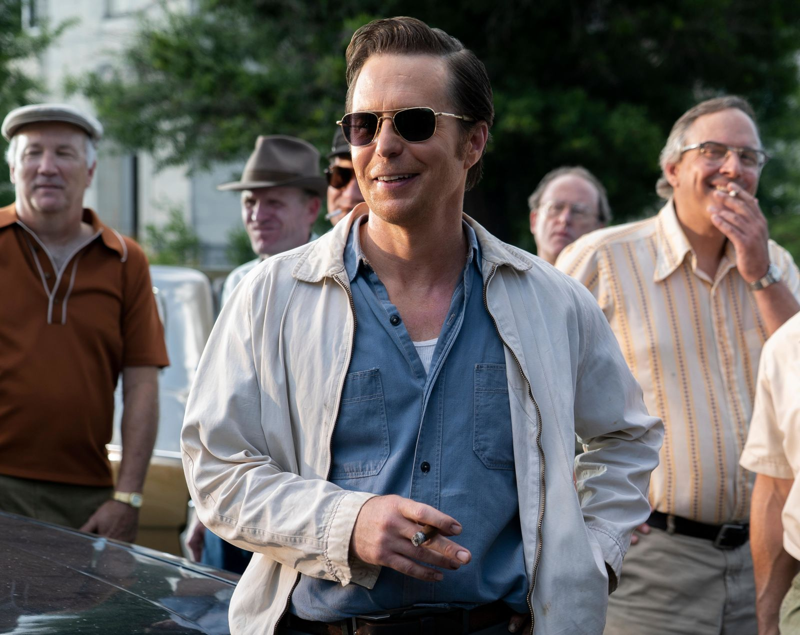 Sam Rockwell stars in THE BEST OF ENEMIES{ }(Photo: STX Entertainment)