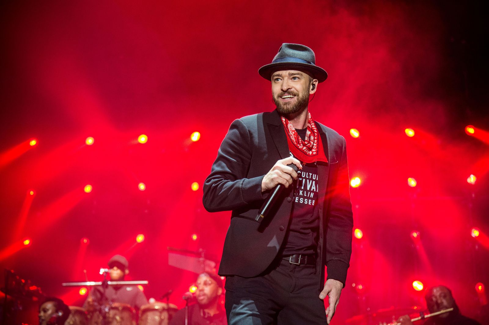 FILE - In this Sept. 23, 2017 file photo, Justin Timberlake performs at the Pilgrimage Music and Cultural Festival in Franklin, Tenn. (Photo by Amy Harris/Invision/AP, File)