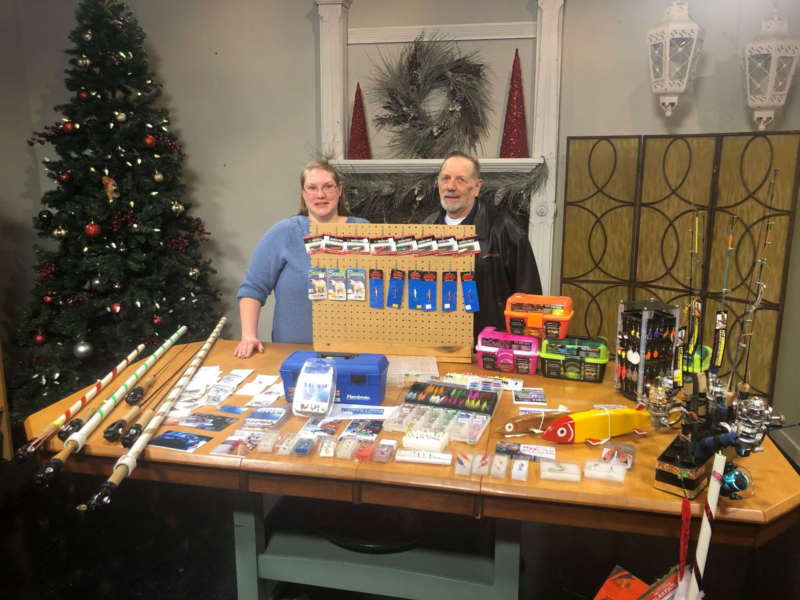 River Haus Bait and Tackle stopped by Good Day Wisconsin as a part of our Small Shop Showcase, December 6, 2019. (WLUK image)