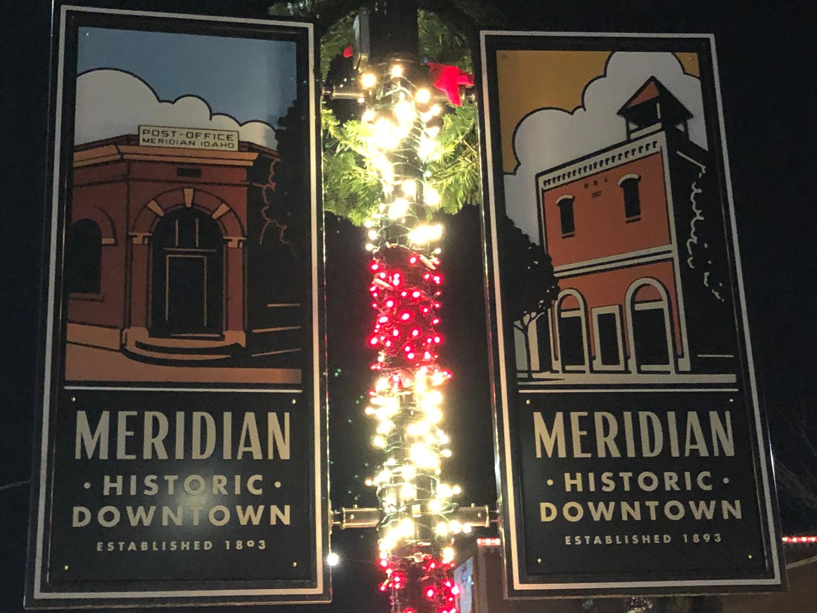 Meridian Winter Lights Parade 2020.Meridian Lights Up With Christmas Spirit For Winter Lights