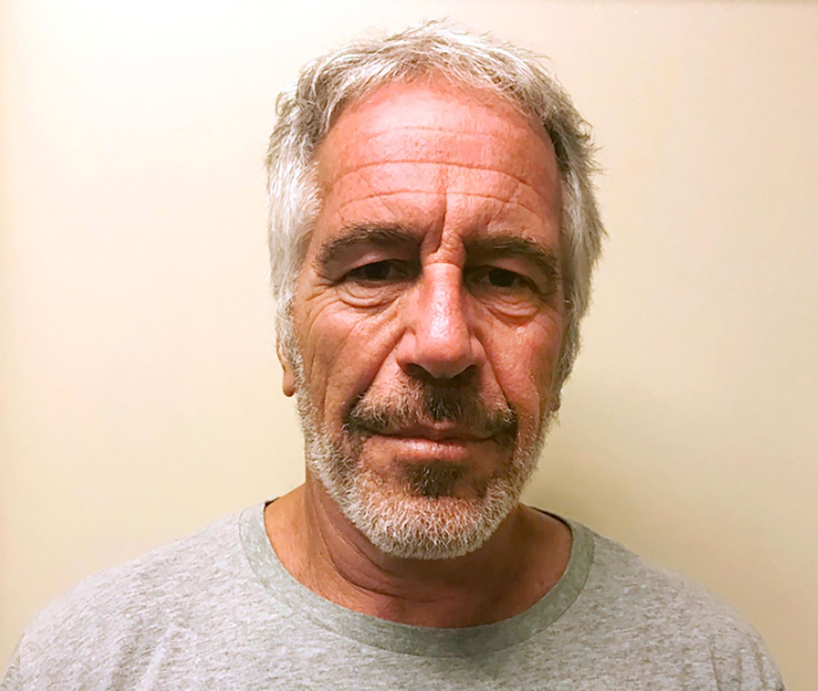 FILE - This March 28, 2017, file photo, provided by the New York State Sex Offender Registry shows Jeffrey Epstein. New York City's medical examiner has ruled Epstein's death a suicide.{ } (New York State Sex Offender Registry via AP, File)