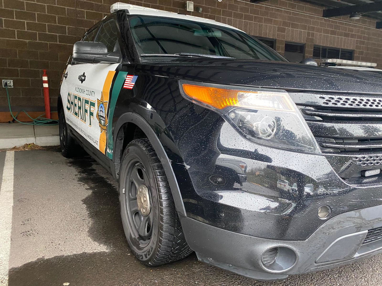 Deputies took Michael Freda into custody on Dec. 7, 2019 after they say he led law enforcement on a pursuit and rammed two Multnomah County Sheriff's Office patrol cars. Photo courtesy Multnomah County Sheriff's Office