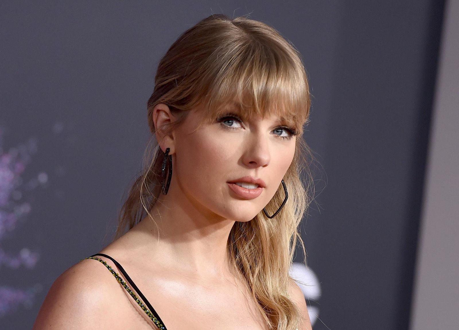 FILE - This Nov. 24, 2019 file photo shows Taylor Swift at the American Music Awards in Los Angeles. A documentary on Swift will kickoff the next Sundance Film Festival. (Photo by Jordan Strauss/Invision/AP, File)